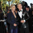 Jean-Claude Jitrois et Sarah Marshall... lors du 62e Festival de Cannes !