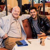 Marc Ladreit de Lacharrière : Déjeuner complice avec Jamel Debbouze