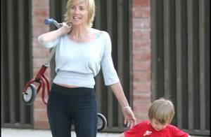 Sharon Stone : ses garçons... elle les adore !