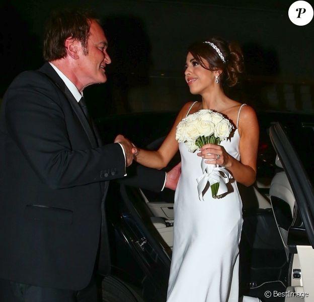 Réception du mariage de Quentin Tarantino et Daniella Pick à Beverly Hills, le 28 novembre 2018.