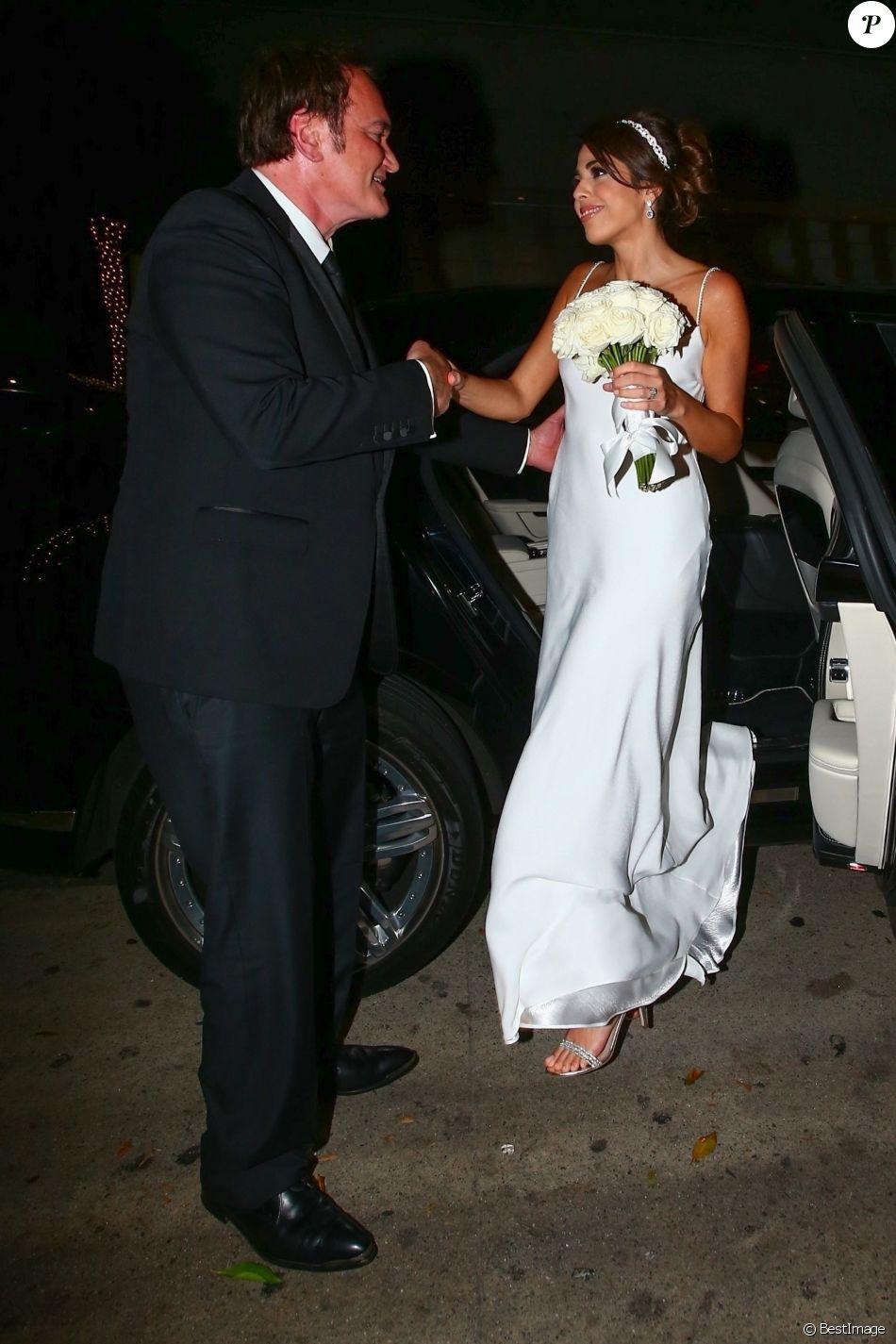 Réception du mariage de Quentin Tarantino et Daniella Pick à Beverly Hills,  le 28 novembre