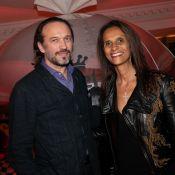 Vincent Perez et sa femme Karine Silla profitent d'une belle soirée parisienne