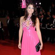 Rachel Legrain-Trapani était très decolletée pour la montée des marches... sa robe en témoigne !