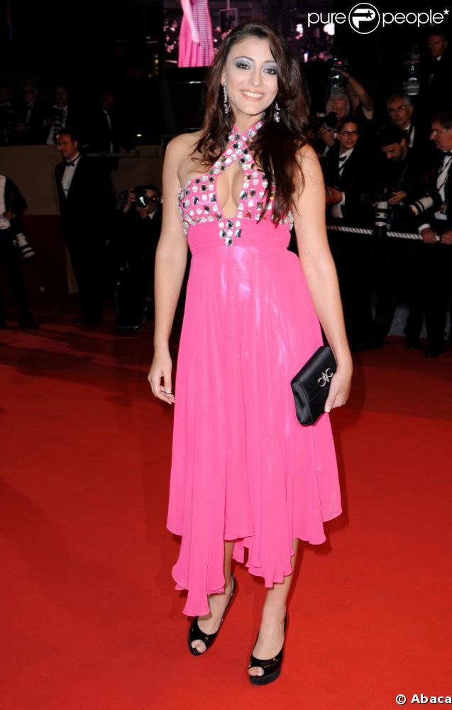 Rachel Legrain-Trapani a monté les marches du Festival de Cannes, hier