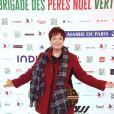 Exclusif - Fabienne Thibeault - Lancement de La Brigade Des Pères Noël Verts du Secours Populaire sur le parvis de l'Hôtel de ville de Paris, France, le 30 novembre 2018. © Giancarlo Gorassini/Bestimage