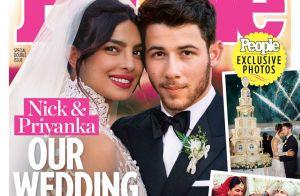 Priyanka Chopra : Divine dans son impressionnante robe de mariée
