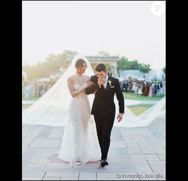 Mariage de Priyanka Chopra et Nick Jonas à Jodhpur, en Inde. Décembre 2018.