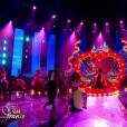 Les Miss font le show en costume régional - Election de Miss France 2019 sur TF1, le 15 décembre 2018.