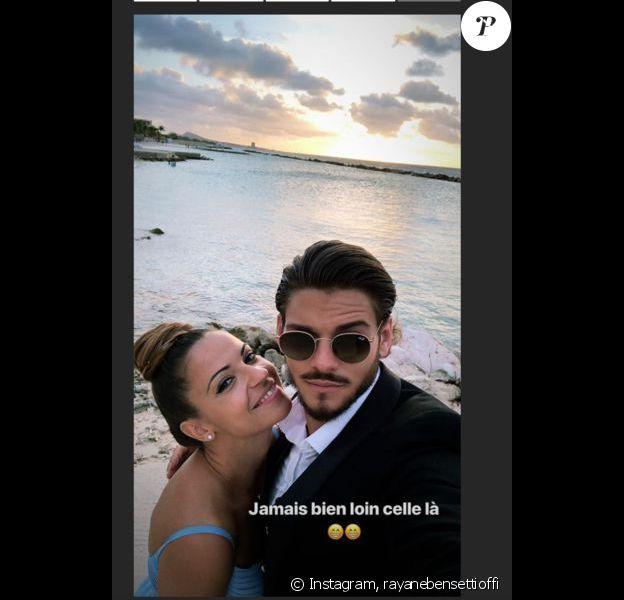 Rayane Bensetti et Denitsa Ikonomova se retrouvent à un mariage sur Instagram. Août 2018.