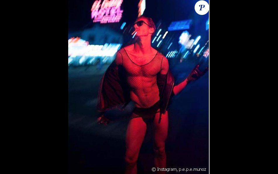 Pepe Munoz a partagé cette photo de lui prise à Las Vegas, sur Instagram, le 5 décembre 2018.