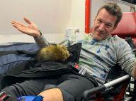 """Benjamin Castaldi accidenté : Fractures, opération... """"C'est plus grave que prévu"""""""