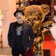 """L'artiste Jayet - Soirée Etam """"Christmas Charity"""" au profit de l'association """"Solidarite Femmes"""" à l'Etam Popstore Champs-Elysées à Paris, France, le 6 décembre 2018. © Rachid Bellak/Bestimage"""