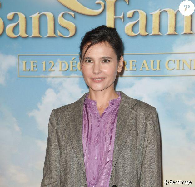 """Virginie Ledoyen - Avant-première du film """"Rémi sans famille"""" au cinéma Le Grand Rex à Paris. Le 11 novembre 2018"""
