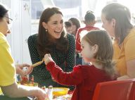 Kate Middleton : Large sourire et gestes tendres, sa nouvelle mission l'enchante