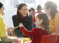 Kate Middleton : Large sourire et gestes tendres, sa nouvelle mission l'enchante