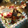 Exclusif - Illustration - Laeticia Hallyday et ses proches lors de la deuxième veillée pour le premier anniversaire de la mort de Johnny Hallyday au cimetière marin de Lorient à Saint-Barthélemy le 6 décembre 2018. © Dominique Jacovides / Bestimage