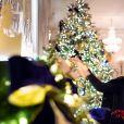 Melania Trump présente les décorations de Noël de la Maison Blanche le 25 novembre 2018.