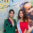 """Exclusif - Sonia Rolland (Présidente de Maïsha Africa) et Vaimalama Chaves (Miss France 2019) lors du dîner de gala au profit de l'association """"Maïsha Africa"""" de Sonia Rolland, qui vient en aide aux enfants du Rwanda, au Pavillon Gabriel, à Paris, le 17 décembre 2018. En vue de soutenir une partie du projet en faveur de la réhabilitation du service de néonatalogie de l'hôpital de Musanze au Rwanda, le gala a été organisé avec le précieux parrainage de C.Descalzi-Pereira, présidente de la Fondation Congo Kitoko, et de Céline Brucker, directrice générale de L'Oréal Grand Public France. Près de 125 000 euros de dons ont été récoltés pendant la soirée, organisée en partenariat avec la Fondation Congo Kitoko, Mixa et LVMH ainsi que la contribution du magazine Infrarouge et de la maison de Champagne Delarocque. © Gorassini-Moreau/Bestimage"""