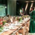 """Exclusif - Sonia Rolland (Présidente de Maïsha Africa) avant le début du dîner de gala au profit de son association """"Maïsha Africa"""", qui vient en aide aux enfants du Rwanda, au Pavillon Gabriel, à Paris, le 17 décembre 2018. Près de 125 000 euros de dons ont été récoltés pendant la soirée, organisée en partenariat avec la Fondation Congo Kitoko, Mixa et LVMH. © Gorassini-Moreau/Bestimage"""