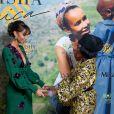 """Exclusif - Sonia Rolland (Présidente de Maïsha Africa), Khadja Nin - Dîner de gala au profit de l'association """"Maïsha Africa"""" de Sonia Rolland, qui vient en aide aux enfants du Rwanda, au Pavillon Gabriel, à Paris, le 17 décembre 2018. Près de 125 000 euros de dons ont été récoltés pendant la soirée, organisée en partenariat avec la Fondation Congo Kitoko, Mixa et LVMH. © Gorassini-Moreau/Bestimage"""