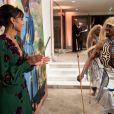 """Exclusif - Sonia Rolland (Présidente de Maïsha Africa) - Dîner de gala au profit de l'association """"Maïsha Africa"""" de Sonia Rolland, qui vient en aide aux enfants du Rwanda, au Pavillon Gabriel, à Paris, France, le 17 décembre 2018. En vue de soutenir une partie du projet en faveur de la réhabilitation du service de néonatalogie du service pédiatrique de l'hôpital de Musanze au Rwanda, le gala est organisé avec le précieux parrainage de C.Descalzi-Pereira, présidente de la Fondation Congo Kitoko et de C.Brucker, directrice générale de L'Oréal Grand Public France. Plus de 125 000 euros de dons ont été récoltés pendant la soirée. Cette manifestation n'aurait pu avoir lieu sans le partenariat de la Fondation Congo Kitoko, Mixa et LVMH ainsi que la contribution du magazine Infrarouge et de la maison de Champagne Delarocque. © Gorassini-Moreau/Bestimage"""