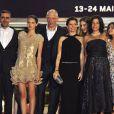 """Toute l'équipe du fim """"A Deriva"""" à Cannes"""