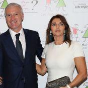 Didier Deschamps radieux avec ses nouvelles dents, au côté de sa femme Claude