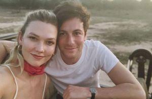 Karlie Kloss : La jeune mariée en lune de miel dans la savane
