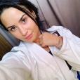 Demi Lovato sur Instagram le 4 décembre 2018.