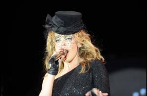 Kylie Minogue... a mis le feu à Cannes cette nuit !