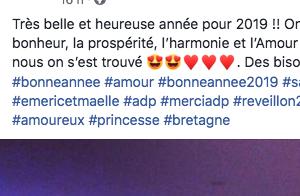 Émeric et Maëlle (L'amour est dans le pré) fous amoureux :