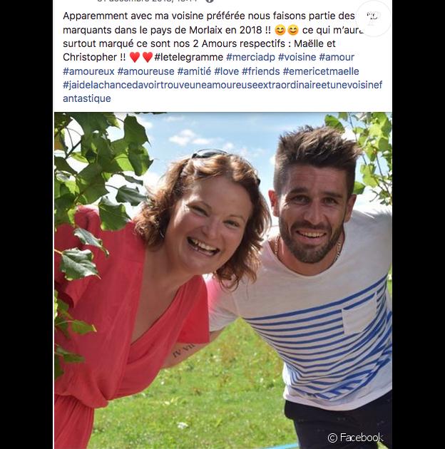 """Emeric et Aude de """"L'amour est dans le pré 2018""""."""