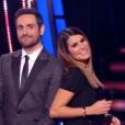 """Karine Ferri et Camille Combal très complices dans """"Danse avec les stars 9"""" sur TF1. Le 8 novembre 2018."""
