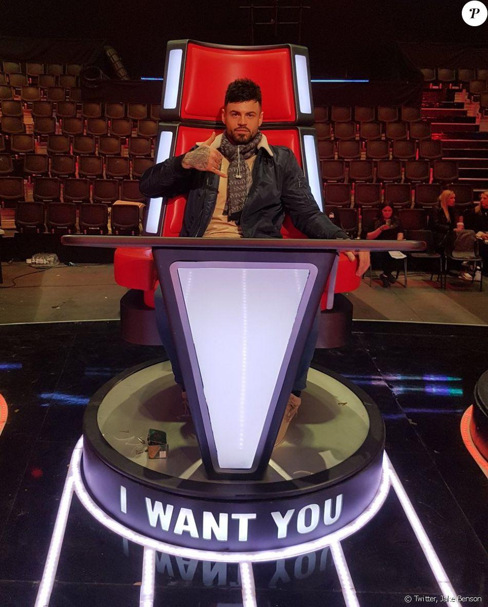 Jake Benson, candidat de The Voice UK - Saison 7, sur Twitter