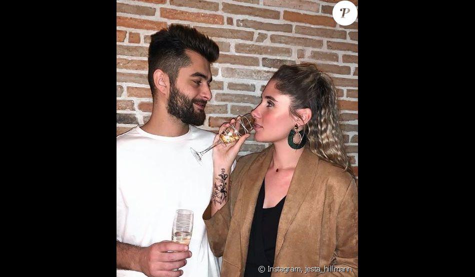 Jesta et Benoît le jour du Nouvel An, à Toulouse - Instagram, 2 janvier 2019