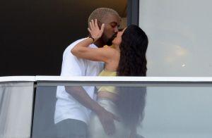Kim Kardashian et Kanye West : Baiser fougueux et main baladeuse à Miami