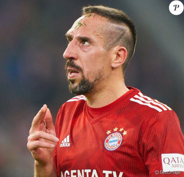 Franck Ribery lors du match Bayern Munich contre Sc Fribourg en Allemagne le 3 novembre 2018.