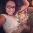 Natasha-St-Pier et son fils Bixente sur Instagram, le 26 décembre 2018.