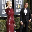 Nicole Kidman, Keith Urban au photocall de la 76ème cérémonie annuelle des Golden Globe Awards au Beverly Hilton Hotel à Los Angeles, Californie, Etats-Unis, le 6 janver 2019