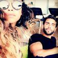 "Jessica Errero et Valentin Leonard des ""Marseillais"" en couple - Instagram, 2017"