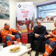 Le prince William, duc de Cambridge, célébrait le 9 janvier 2019 à l'Hôpital royal de Londres les 30 ans de l'association London Air Ambulance, un service d'ambulances aériennes.