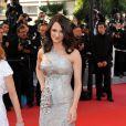 Asia Argento dans une magnifique robe signée Roberto Cavalli