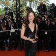 Michelle Yeoh dans une robe à sequins noirs Cavalli