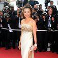 Michelle Yeoh a misé sur le doré et ça lui réussi... Sa robe est signée Cavalli