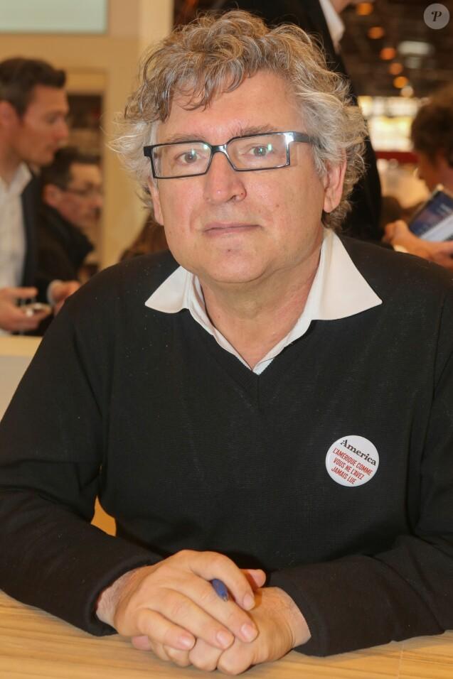 Michel Onfray lors de la 37ème édition du Salon du livre au parc des expositions, à la porte de Versailles, à Paris, France, le 26 mars 2017. © CVS/Bestimage
