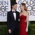 Alex Greenwald et sa fiancée Brie Larson - La 74ème cérémonie annuelle des Golden Globe Awards à Beverly Hills, le 8 janvier 2017.