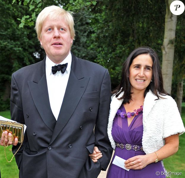 Boris Johnson et son épouse Marina en 2009.