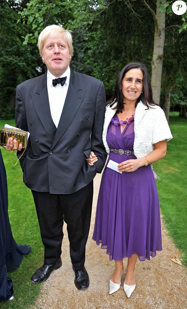 Boris Johnson et son épouse Marina en 2009.