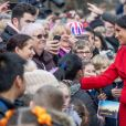 Le prince Harry et Meghan Markle lors d'une visite à Birkenhead le 14 janvier 2019.