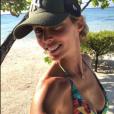 Sylvie Tellier en Polynésie française le 9 janvier 2019.